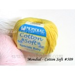 Cotton Soft 棉線 #509 黃