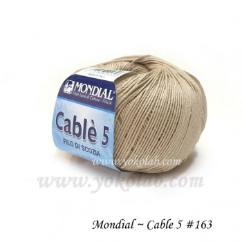 Cable 5 棉線 #163 沙淙