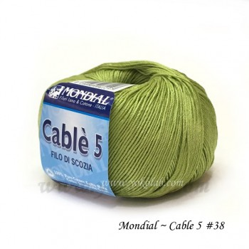 Cable 5 棉線 #509 芒黃