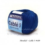 Cable 5 棉線 #409 藍