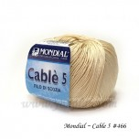 Cable 5 棉線 #466 杏