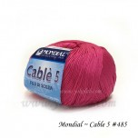 Cable 5 棉線 #485 Spicy Pink