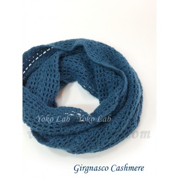 鉤針圍脖 Snood - Grignasco Cashmere