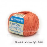 Cotton Soft 棉線 #860 橙
