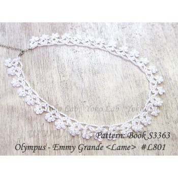 項鍊 Necklace - Emmy Grande <Lame>  #L801 白