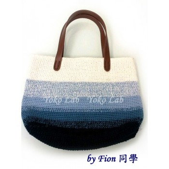 Tote Bag 2 - Puro Lino Blue
