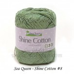 Shine Cotton 棉線 #08 綠