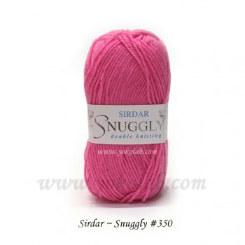 Snuggly 毛線 #350 spicy pink