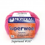 Superwool 毛線 #167 深粉紅