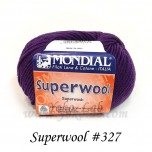 Superwool 毛線 #327 深紫