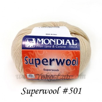 Superwool 毛線 #501 淺杏