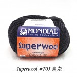 Superwool 毛線 #705 炭灰
