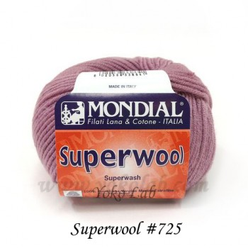 Superwool 毛線 #725 豆紅