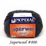 Superwool 毛線 #800 深灰