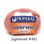 Superwool 毛線 #861 桃紅