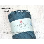 Wash Cotton Crochet 棉線 #110 薩克斯藍