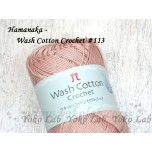Wash Cotton Crochet 棉線 #113 蝦肉