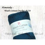 Wash Cotton Crochet 棉線 #124 蔚藍