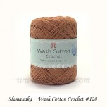 Wash Cotton Crochet 棉線 #128 橙啡