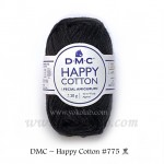 Happy Cotton 棉線 #775 黑